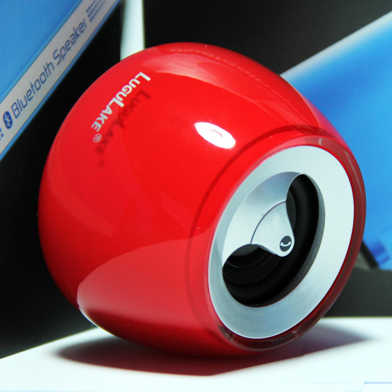 Lugulake Crystal Shaped Bluetooth Speaker Portable Mini