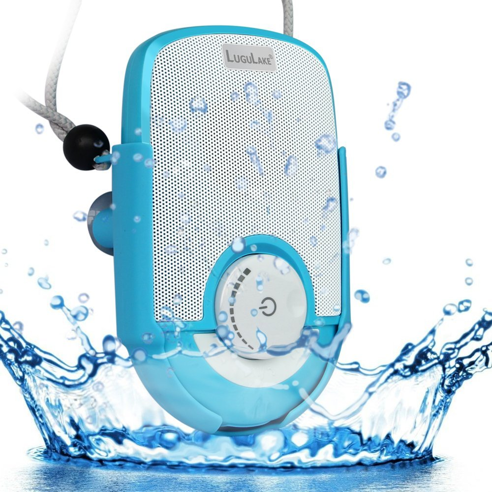 Lugulake waterproof shockproof shower speaker with hands - Waterproof sound system for bathroom ...